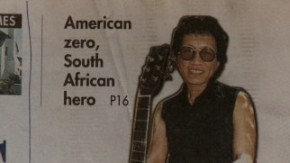 The newspaper declares Rodriguez a hero (and a zero).
